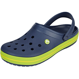 Crocs Crocband Clogs Unisex, navy/volt green/lemon